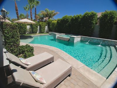 "Photo for The Original OASIS - 5BR/4.5BA Walk to Coachella. ""The Best Pool in Montage!"""