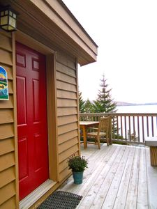 Front Entrance with Custom Wrap-Around Deck