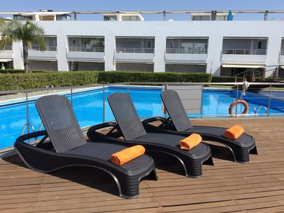 Photo for Luxury Garden Apartment In Tavira With Communal Pool And Manicured Gardens