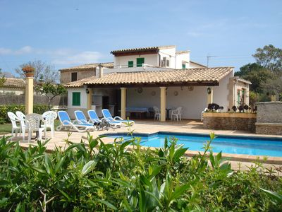Photo for Ca'n Gató, pacapidad villa for eight people with private pool.