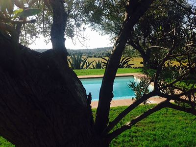 Photo for charming country estate with pool and views typically Sicilian siracus