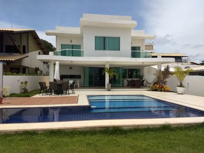 Photo for Luxury House 5 Suites (split in all) with pool and barbecue