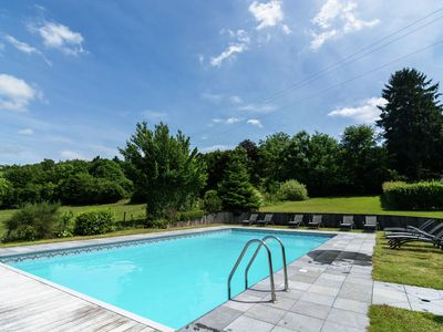 Photo for Vintage Holiday Home with Swimming Pool in Saint-Hubert