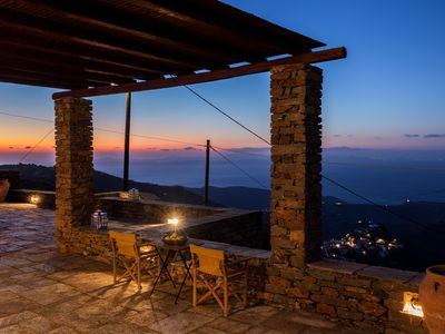 Photo for Amber Summer -A beautiful summer house with breathtaking sunset views