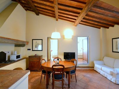 Photo for Appartamento Lapo G: A characteristic and welcoming apartment located in the historic center of Florence, at a short distance from Palazzo Pitti and from Ponte Vecchio (old bridge), with Free WI-FI.