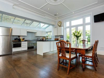 Photo for Luxurious home with fireplace and a stunning typical English garden (Veeve)
