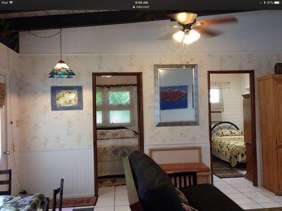 Photo for Nice 2bd/1bath. 3blk. Walk to beach. Private entry& bathroom