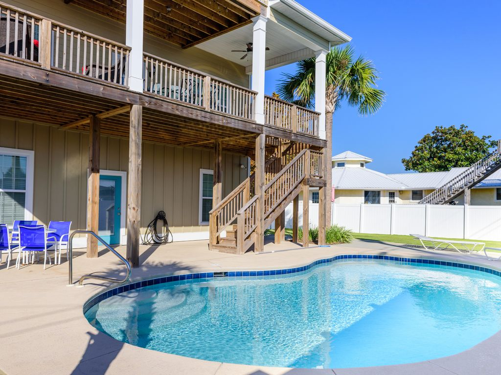 Built In 2015 Private Beach 4 Bedrooms 4 5 Bath With Private Pool Panama City Beach Florida