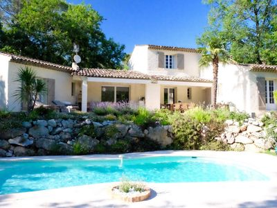 Photo for Beautiful Villa with pool, aircond, wifi, petanque, ping-pong