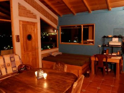 Photo for Chalet in San Pedro La Laguna, overseeing lake Atitlan.