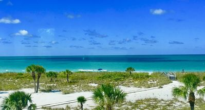 Photo for Boca Grande Club Beach Condo overlooking the Gulf of Mexico steps from beach