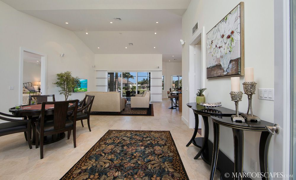 Belle maison island contemporary homeaway marco island