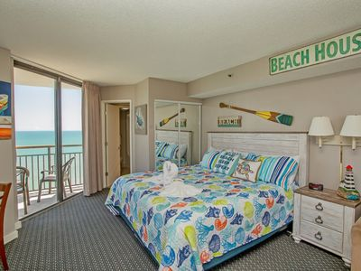 Photo for GREAT PENTHOUSE /OCEANFRONT RESORT BEST VIEW - TWO BALCONIES - NEW