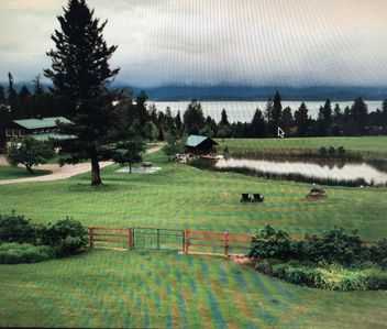 Photo for A luxury Private Ranch / Estate in Lakeside Montana