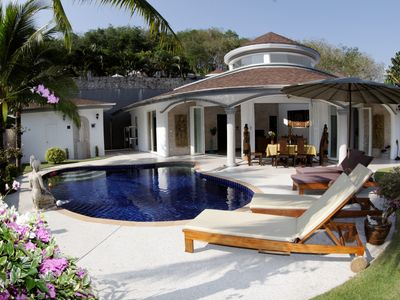 Photo for Luxurious, quiet, private Pool-Villa Orchid, 7/7 housekeeper, 24/7 Butler