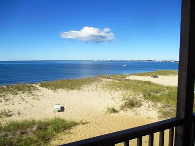 Photo for Beach Point 2BD Condo--A/C, Balcony, Gorgeous Private Beach & Sunsets