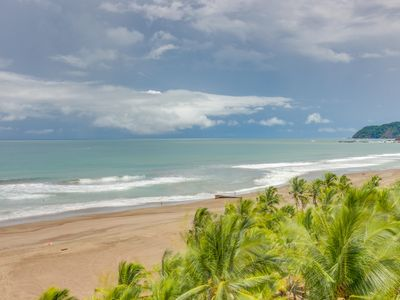 Photo for Luxurious seaside condo on the beach w/ shared pool - views from private patio!