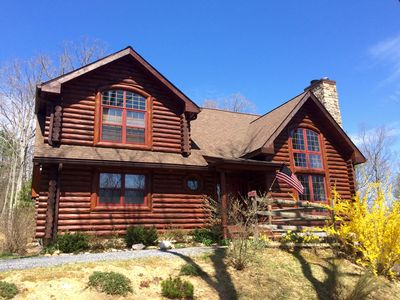 Photo for River Woods Retreat - Rustic Luxury in the Shenandoah Valley