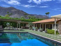 Perfect spot for enjoying Palm Springs.