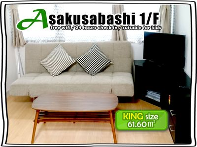 Photo for 1/FAsakusabashi BLDG  for 6-8 ppl