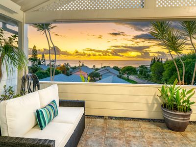 Photo for Bright, beautiful ocean view condo w/ deck, updated kitchen & garage!