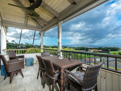 Photo for New Listing! Stunning Ocean & Fairway Views! Top Floor! Wailea Ekolu 208