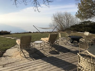 Photo for Beautiful remodeled  Lake Michigan beach front home in rural country setting
