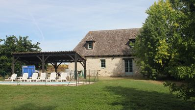 Photo for Charming Old Farmhouse In Issigeac With Private Pool And Garden And Lovely Views