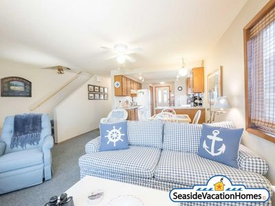 Photo for OCEAN FRONT: BEACHTOPIA: Both Units:  Seaside Vacation Homes, Inc Managed