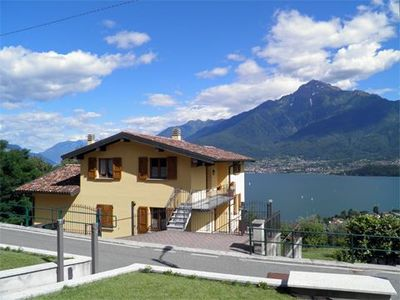 Photo for Holiday apartment at Casa Panorama is located in Vercana with wonderful panoramic view of the lake
