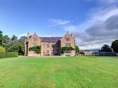 Photo for To experience real country house living, Lloyd Hall is the historic house for you! Magnificent firep