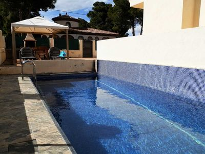 Photo for CASA POL,Ideal house for your holidays near the sea, free wifi, air conditioning, private pool, pets allowed, dog's beach.