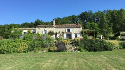 Photo for Special Offers! Secluded farmhouse with pool for up to 14 people near Bergerac