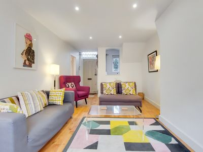 Photo for A charming 2BR mews house with a private garden