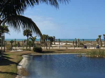 Photo for Book Fall Retreat Now: Oceanview, Ferry, Golf Cart on Little Gasparilla Island