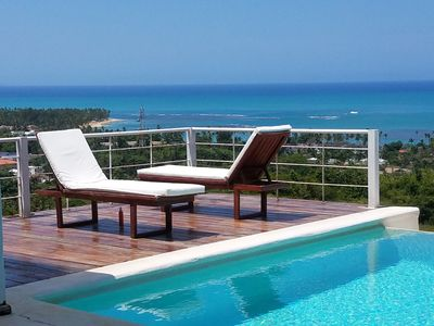 Photo for Villa Coco: unforgettable sea view and absolute comfort!