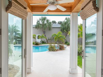Photo for Seaside Oasis: Private Pool, Free Golf Cart, Walk to Beach