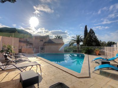 Photo for House 432 m from the center of Bormes-les-Mimosas with Parking, Internet, Washing machine, Air conditioning (329569)