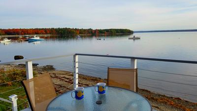 Photo for Sea Dream - Oceanfront with Fabulous views of Acadia Nat'l Park in Surry, Maine