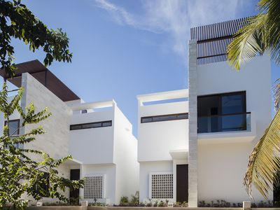 Photo for Mayan Riviera Ocean Villa - Rooftop Terrace with Ocean View. Beach Club Now Open