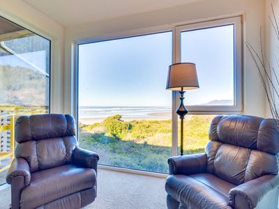 Photo for Upscale, dog-friendly, oceanfront condo w/ shared hot tub - right on the beach!