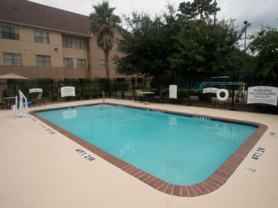 Photo for Free Breakfast +  Outdoor Pool + Hot Tub | Modern Suite