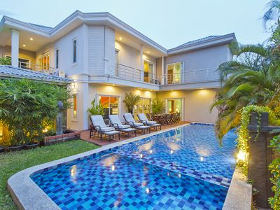Photo for ⭐Modern Luxury 7 BR Villa w/ Pool in Central Pattaya