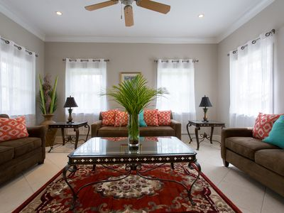 Photo for Private Spacious 4 BR Villa in Gated Garden Setting