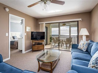 Photo for Carlos Pointe 312, Gulf Front 2 Bedrooms, Elevator, Heated Pool, Sleeps 6