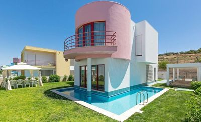 Photo for beautiful, modern villa, short walk to old town of Albufeira and the beach