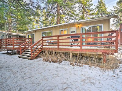 Photo for NEW-Cozy Home w/Deck & BBQ-300 Yards to Lake Tahoe