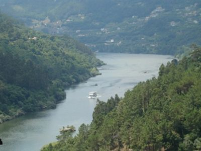 Photo for XIX century granite house restored in 2000 great view Douro River