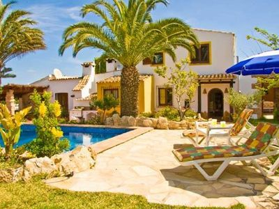 Photo for CASA MARIO, JAVEA - 3 Bedrooms, Private Pool, WiFi, A/C, BBQ