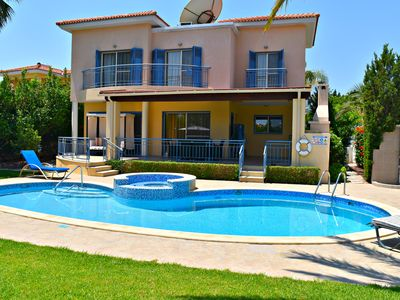 Photo for Latchi Beach Villa - Just 100m to Latchi Beaches & Harbour/Tourist area - Pool